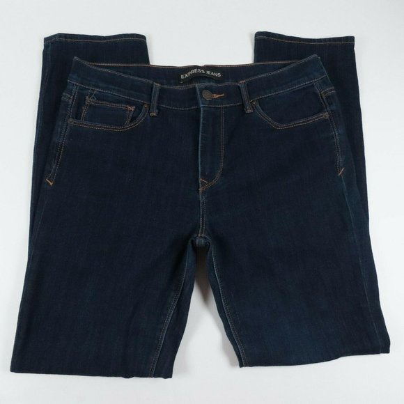 Express Womens Jeans Size 12R Skinny Mid Rise